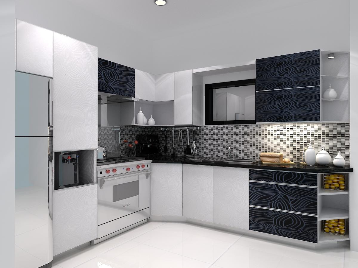 Kitchen set untuk ruang dapur anda jasa desain interior for Jasa buat kitchen set
