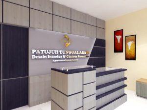 desain ruang receptionis