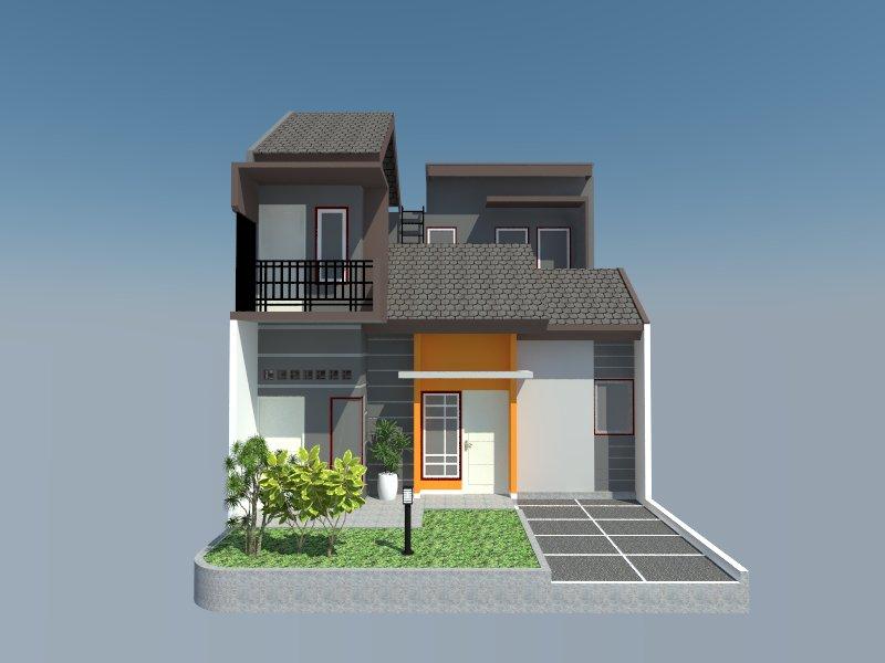 desain gambar 3D rumah